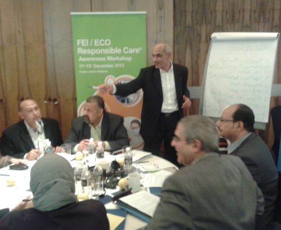 *****  Helwan Fertilizers Company participates in many international conferences. gallery-2